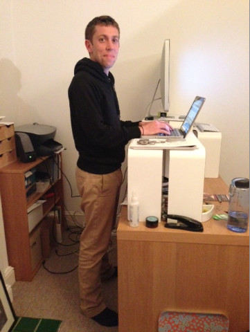 Standing desks at freestak