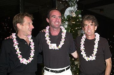 (l to r) Rodgers, Salazar & Shorter at the 2013 Honalulu marathon