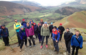 The Berghaus #AdventureList team on Catbells