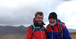 Me and Sir Chris Bonington - hero worship in full effect!