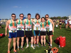 Mornington Chasers contingent in the VMLM Championship Start